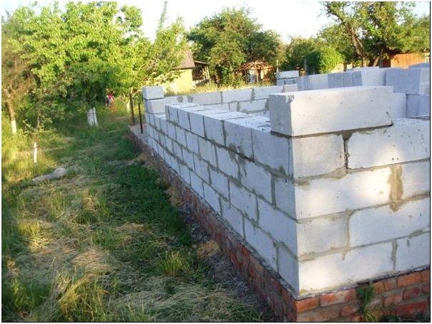 Как построить дом из пеноблока: подготовительные работы