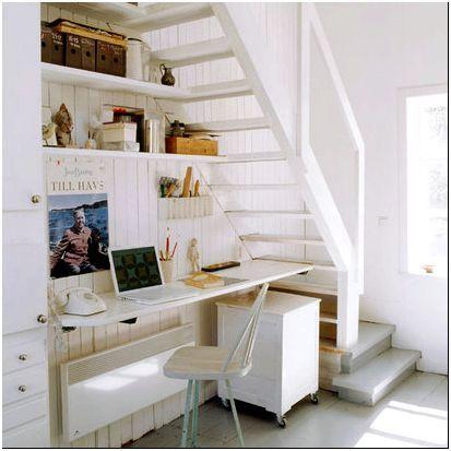 Фото 3 - Офис под лестницей