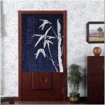 Японские шторы в дизайне интерьера