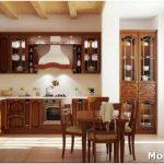 Дизайн кухни из массива: от «золотого» ясеня до красного бука