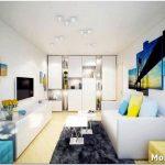 Как украсить дизайн маленькой двухкомнатной квартиры?