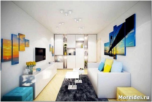 дизайн маленькой двухкомнатной квартиры