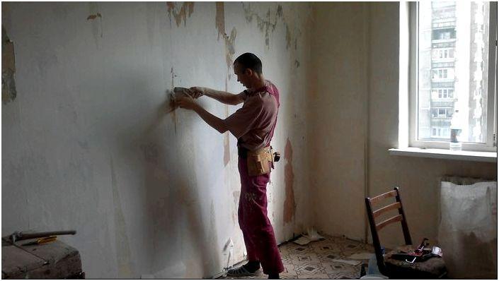 Подготовка стен под покраску: видео-инструкция по монтажу своими ...