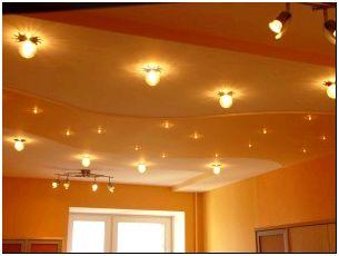 На фото - освещение квартиры с помощью ламп, masterotvetov.com