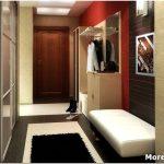 Дизайн прихожей в двухкомнатной квартире — 30 фото