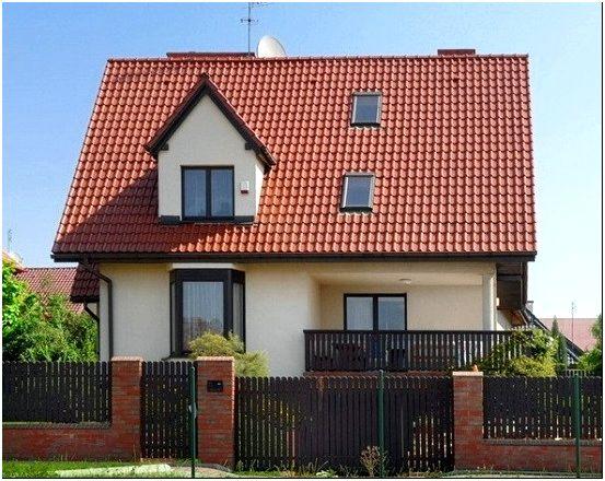 Фото 10 - Дом с красной черепичной крышей