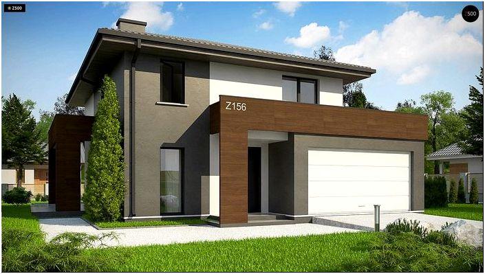 Проекты домов с мансардой в готовых типовых решениях