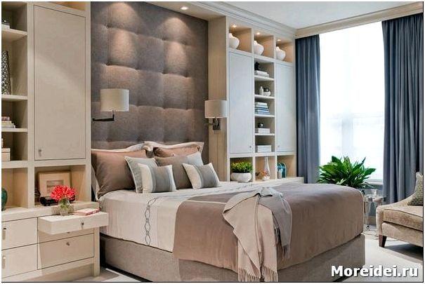 дизайн спальни 7 кв.м
