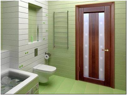 Фото 1 — Дверь в ванную обладает рядом особенностей