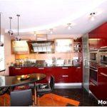 Фото дизайна гипсокартонных потолков на кухне
