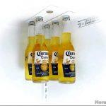 Необычная идея для хранения бутылок в холодильнике
