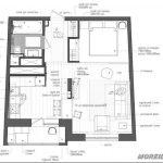 Функциональный дизайн квартиры 45 кв.м в москве — 20 фото