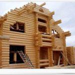 Деревянные дома: технология возведения