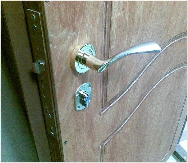 Фото 1 – Стальная дверь
