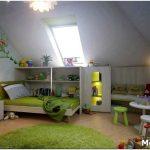 Дизайн детской комнаты в мансарде: как обустроить комнату ребёнка?