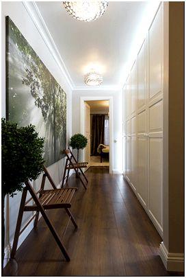 Фото 2 - Прямая прихожая-коридор от Зеленецкой Варвары и Мекерова Дмитрия