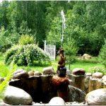 Как сделать фонтан на дачу своими руками