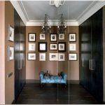 Дизайн стен и потолков в гостиной