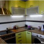 Как эффективно организовать интерьер кухни 2 метра?