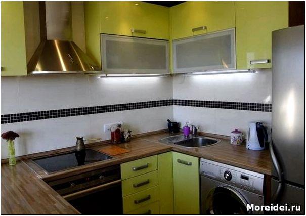 интерьер кухни 2 метра