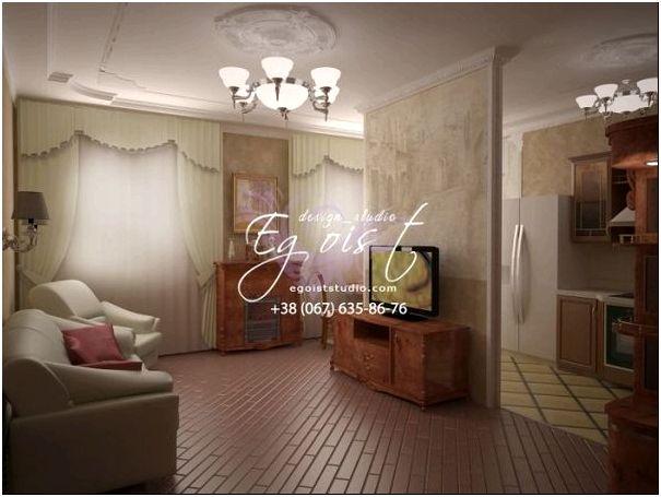 Элегантная гостиная в английском стиле