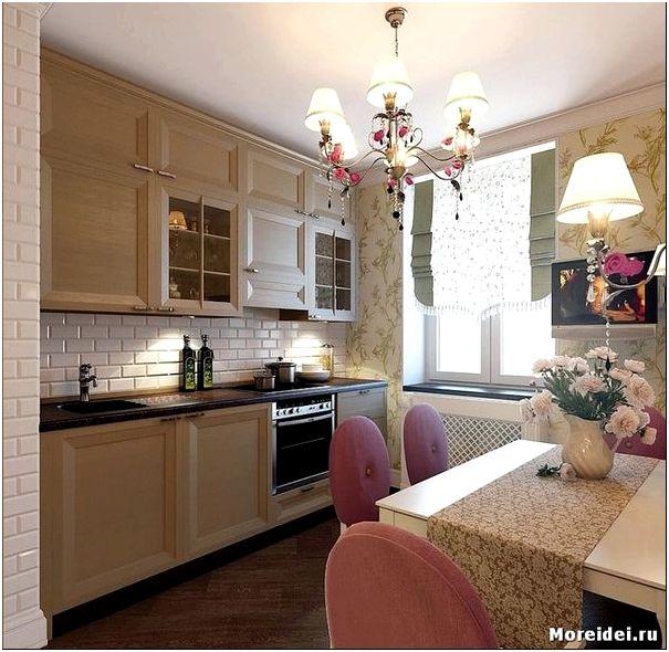 кухня 14 кв дизайн