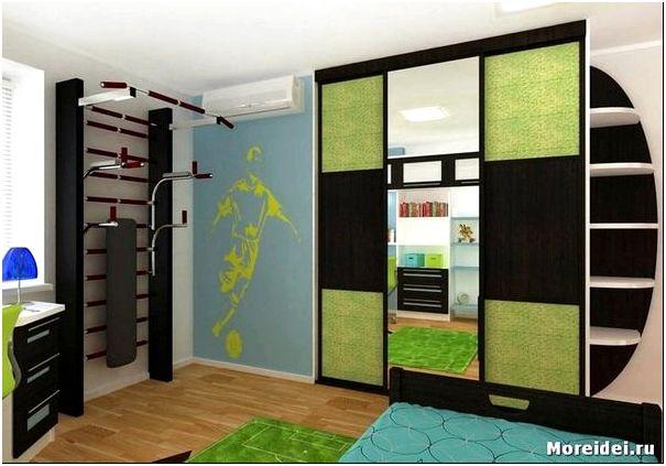 стенка для комнаты подростка