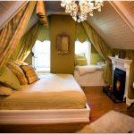 Дизайн спальни частного дома в деталях