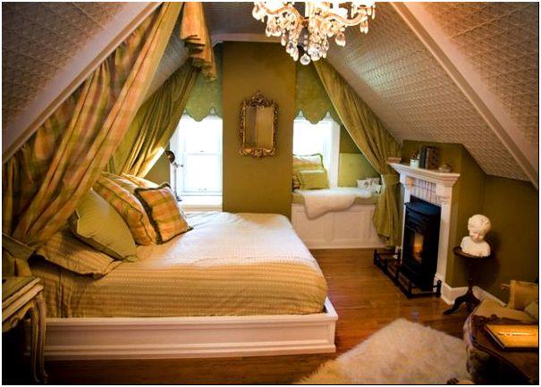 Фото 12 - Дизайн спальни на даче