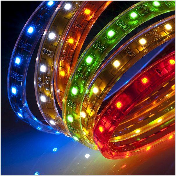 Фото 5 - Цветовая гамма светодиодной ленты