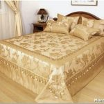 Заключительный этап оформления спальни — выбираем дизайн покрывала
