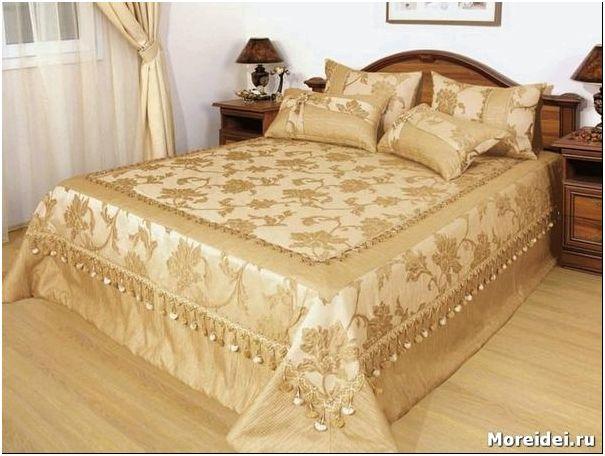 дизайн покрывала для спальни