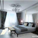 Как сделать нескучным дизайн серой спальни?
