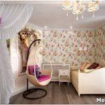 Уютный и просторный дизайн детской в стиле прованс