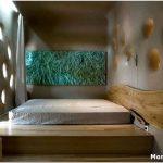 Спальня с подиумом: оригинальный и функциональный интерьер