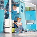 Цветочно — облачная детская комната