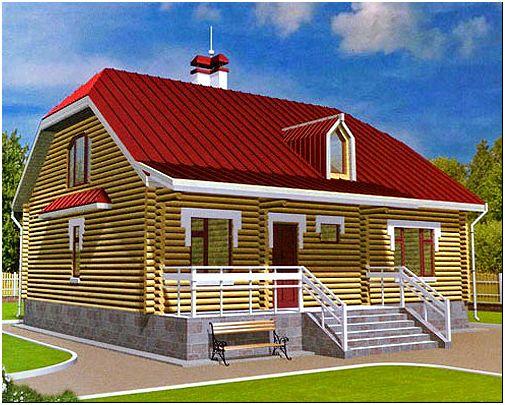 Фото 3 - Дом с мансардной крышей