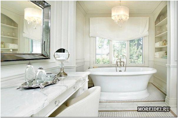 белая ванная комната-5