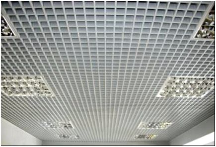 Решетчатый подвесной потолок «грильято»