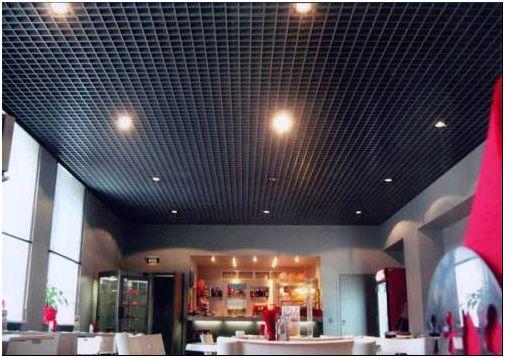 Фото 6 - Подвесной потолок грильято