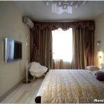 Выбор отделки и цвета при оформлении узкой длинной спальни
