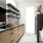 Как организовать пространство проходной кухни?