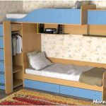 Детская кровать со шкафом: как выбрать и использовать в интерьере?