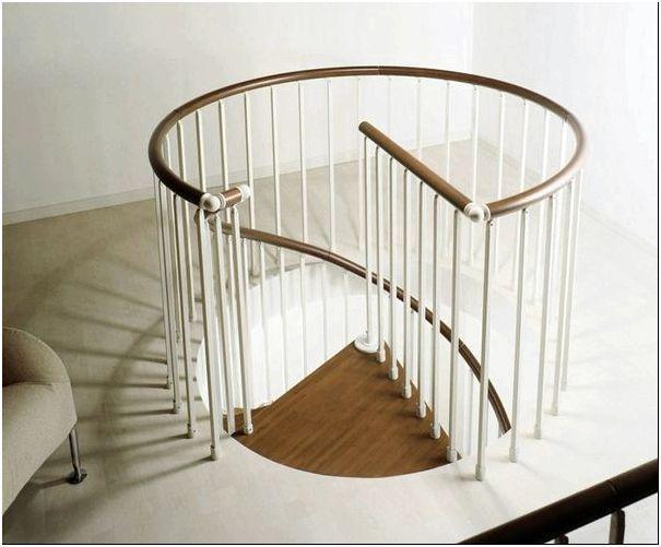 Винтовые лестницы своими руками