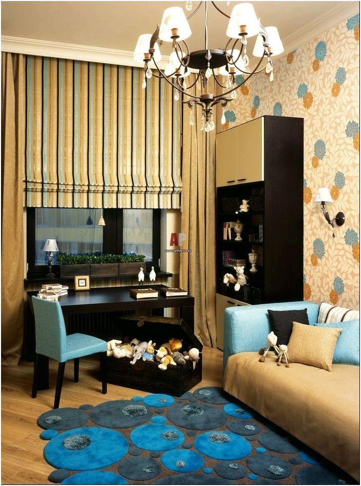 Обои - 30 вариантов оформления комнаты для детей