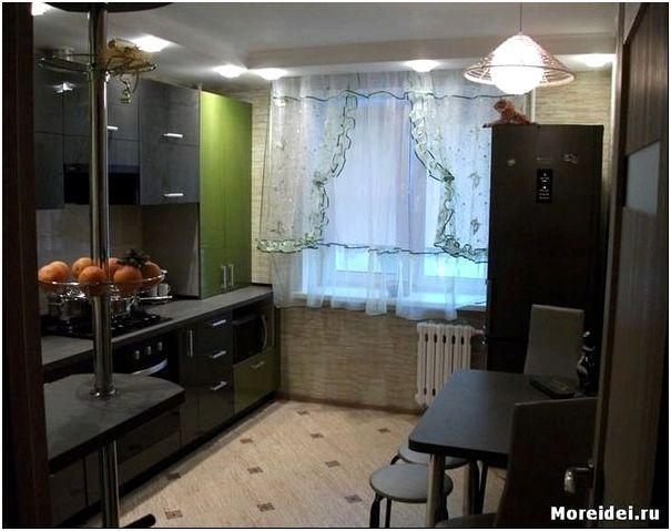 кухня 11 метров дизайн