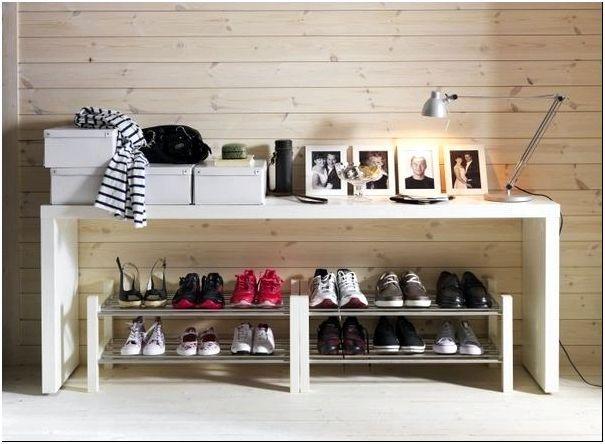 Фото 6 - Хранение обуви. Вместительные горизонтальные полки от ИКЕА