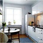 Планируем и воплощаем в жизнь смелые решения в кухне малогабаритной квартиры