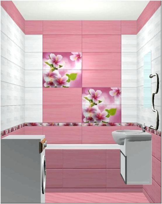 Розовая ванная: яркая жемчужина в вашем доме - tooran