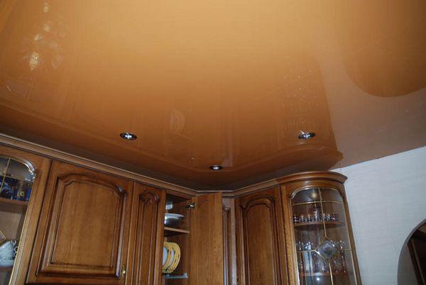 Какой натяжной потолок выбрать на кухню?